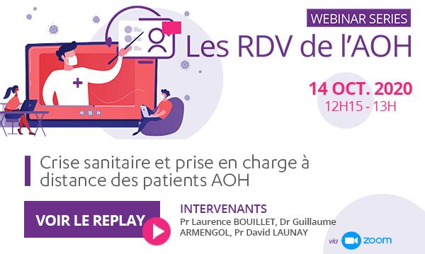 Webinar Series - Les RDV de l'AOH